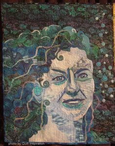 The Four Elements (Water) by Margaret Jessop (Calgary, Alberta).  Photo by Quilt Inspiration