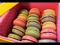 YouTube  How to make 6 fillings for French Macarons