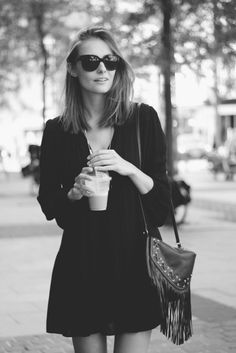 street style, the dress, fring