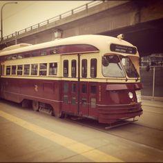Vintage Toronto Streetcar