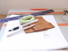 Leather Notebook tutorial | Momtastic
