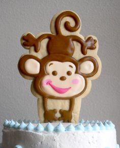 .Oh Sugar Events: Monkey Shower Cake