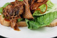 CrockPot Barbecued Pulled Pork Recipe - yum!!