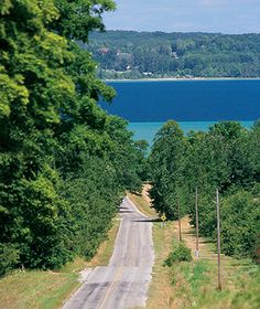 Leelanau Peninsula Wine Trail, Michigan Starting Point: Traverse City, MI Route: 29 miles along M22 to Northport, MI Where to Stop: You can practically put your toes in the water from the Leelanau Cellars tasting room; Corky's Beach Bistro is home to French Valley Vineyard wines and is a great place to uncork and unwind alfresco in summer.