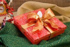 Caixa para presente de Natal / DIY, Craft, Upcycle