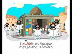 TRALACLIPS - Polyglotte, chanson amusant!
