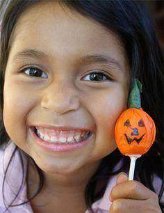 Tootsie Pop Pumpkins