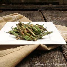 veget recip, lights, ginger sesame green beans, green salsa recipe, dinner recip, magazines, cooking light magazine recipes, gingersesam green, green bean recipes