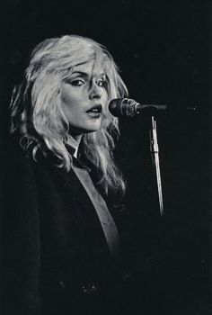 someone at work told me I looked like her.  instafriend.  Debbie Harry