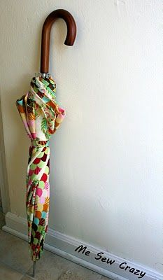 How to recover an umbrella sewing tutorial