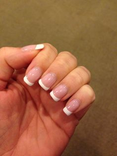 French Manicure, Shellac Nails French and American French Manicure