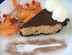 Dangerous Peanut Butter Pie with Chocolate Ganache