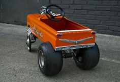 Gasser peddle car