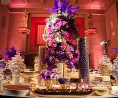 A decadent candy bar and tons of other swoon worthy (and pin worthy) details.