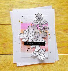 Floral card by Agnieszka