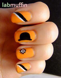 A Clockwork Orange Nails