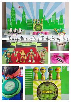 Best. Teenage Mutant Ninja Turtle Party. Ever. www.spaceshipsandlaserbeams.com
