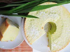Singapore Stories: Pandan Chiffon Cake. #recipe