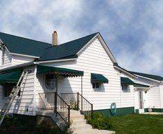 Best Hartford Green Slate Metal Roofing On Pinterest 400 x 300