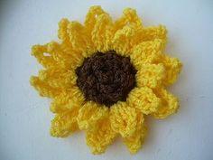 Decorative Sunflower ~ free pattern ᛡ