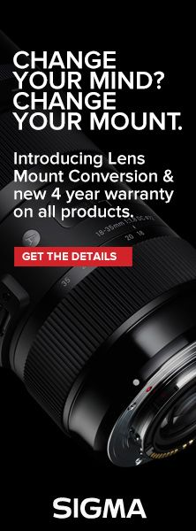 Why the New Lens Mount Conversion is Great for Photographers | SIGMA Blog