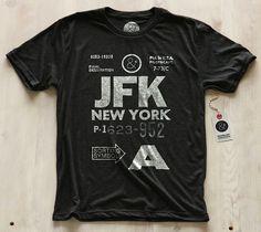 New York JFK Tee by Pilot