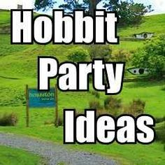Here is a collection of party ideas based on J. R. R. Tolkien's novel The Hobbit.    This site is mostly about things your guests can do.