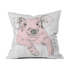 Cute Piggy Pillow