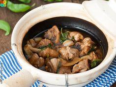 Three Cups Chicken Recipe // Noob Cook