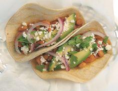 Pinto Bean and Soy Chorizo tacos