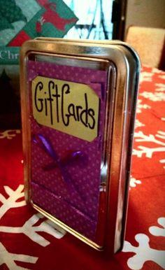 Frugal Craft: Gift Card Holder