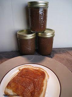 Homemade Apple Butter in Crock Pot