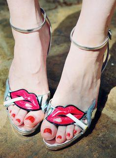Prada. All shoes deserve love.