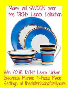 Need some Inspiring Mother's Day Gifts? Moms will SWOON over the DKNY Lenox Collection and our GIVEAWAY! - The Staten Island family