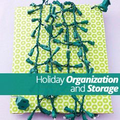 Have you taken down your holiday #decorations already? Here are some tips for storing all of your #holiday decor when it's time to put them away!