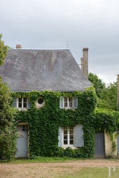 ~♕ the perfect French cottage #exterior