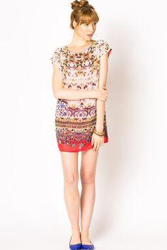 FLORAL SHIFT DRESS #athreadwishlist