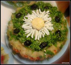 Papatya salata.Bir şefin değil,sıradan bir  Türk ev kadının yaratıcılığı.mahareti karşınızda