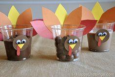 turkey cup craft thanksgiving turkey, kids treats, thanksgiv turkey, thanksgiving crafts preschool, snack cup, thanksgiving snacks, preschool crafts, cup crafts, kid school snack ideas