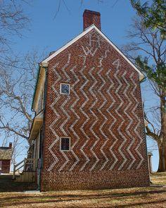 William & Sara Hancock House 1734, Hancocks Bridge, Salem County, New Jersey