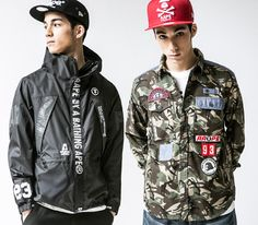 Lookbook A Bathing Ape-AAPE (Spring 2014)