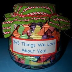 365 thing, mothers day, gift ideas, father day, jar, diy gifts, fathers day gifts, anniversary gifts, kid
