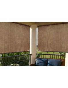 porch privacy screen... like the flatness idea...