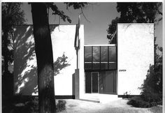 Biennial Pavilion (1953-54) in Venice, Italy, by Gerrit Rietveld