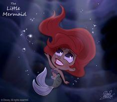 50 Chibis Disney : the Little Mermaid by princekido on deviantART