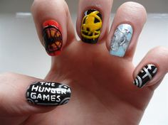 The Hunger Games nails