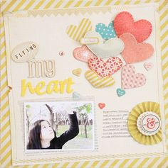 Love the hearts...There is even a tutorial