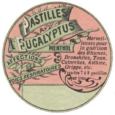 Apothecary Label