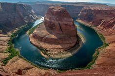 Horseshoe Bend on the Colorado River, Arizona  woooowwww!