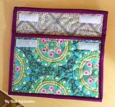 Quilted Tablet Case- great Christmas gift!  several fabric choices available